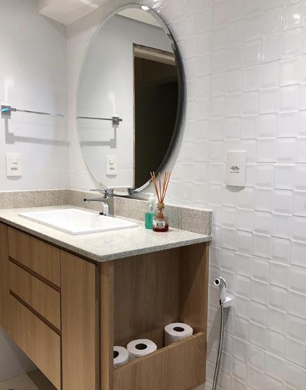 banheiro concreta arquitetura Luisa Adaime
