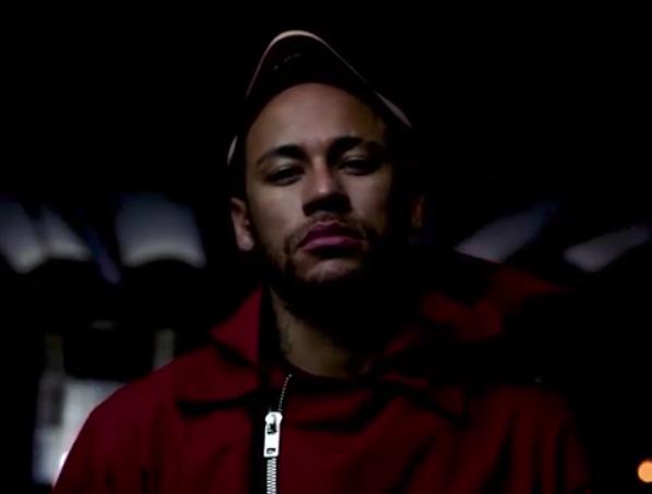 Neymar em La Casa de Papel