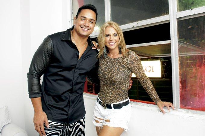 Mariana Silva e Lucas Castilho
