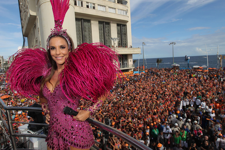 Ivete Sangalo no Carnaval de Salvador