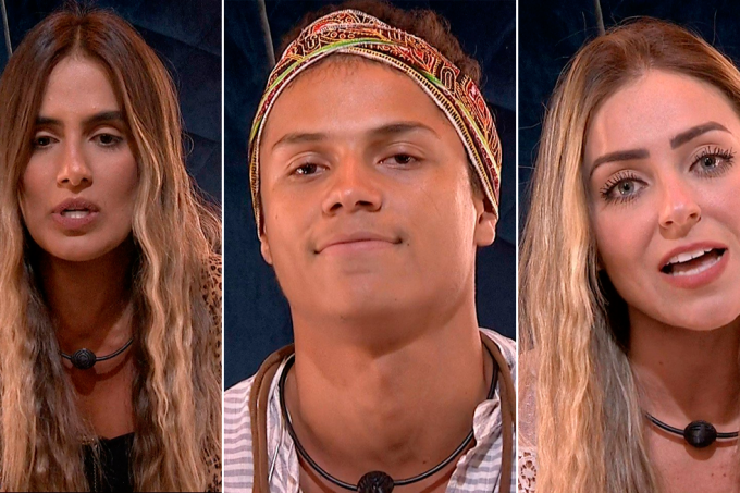 Carolina, Danrley e Paula no paredão do BBB19