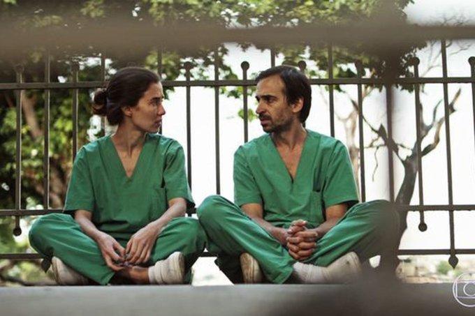 Carolina e Evandro em Sob Pressão