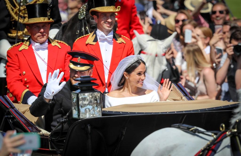 Harry e Meghan se casam
