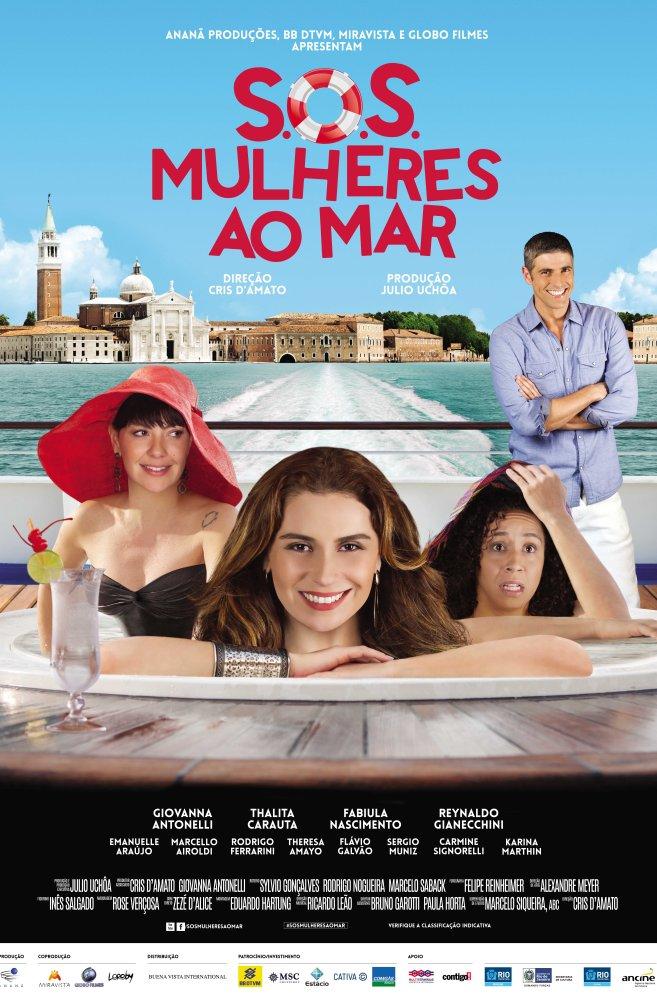 Cartaz filme Mulheres ao Mar