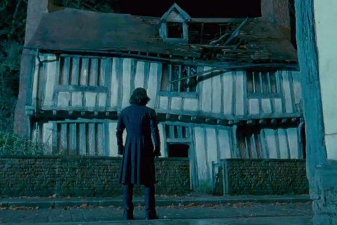 """Casa em que Harry Potter nasceu em """"Harry Potter e as Relíquias da Morte: Parte 2"""""""