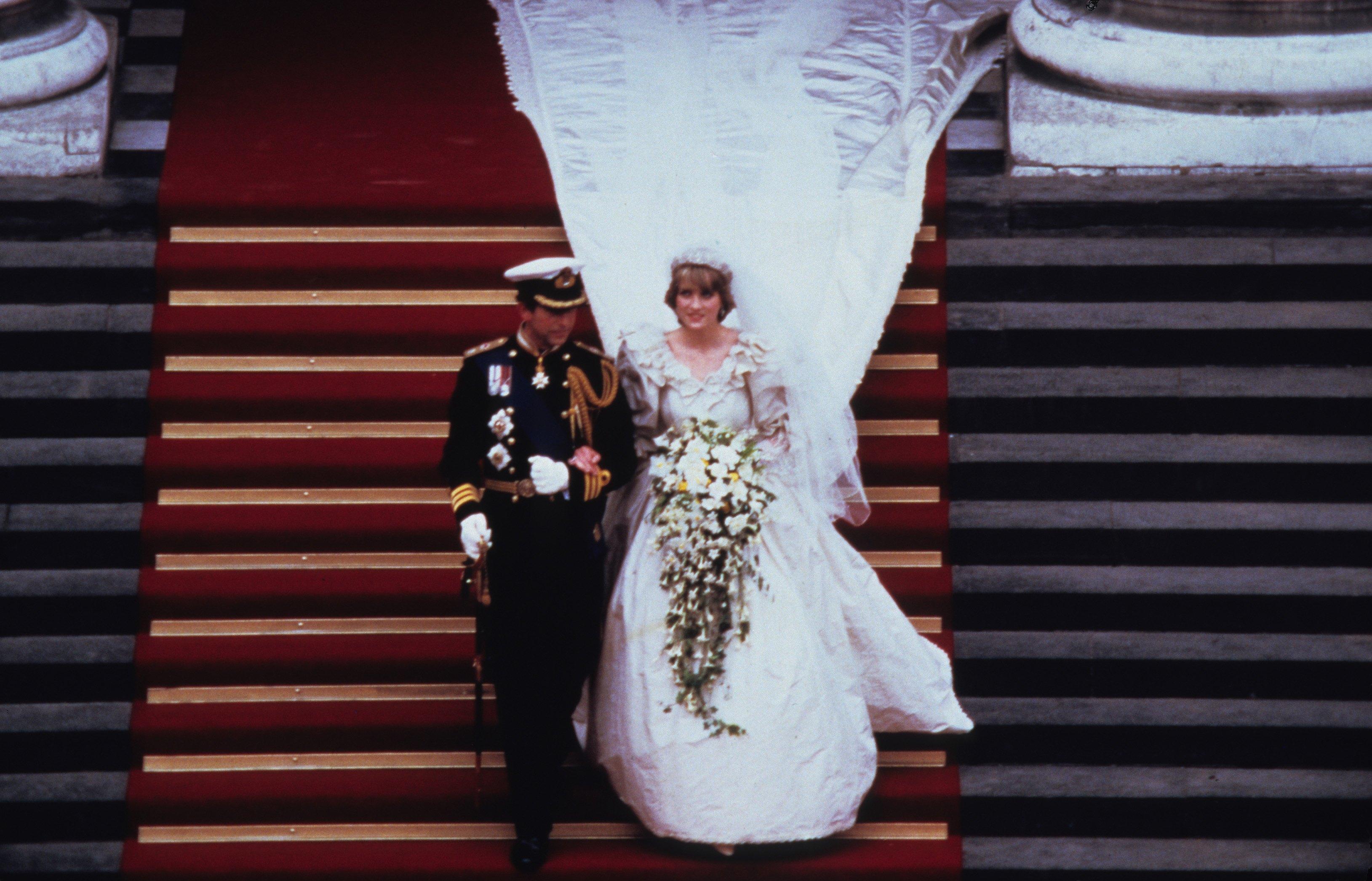 Casamento PRincesa Diana e Principe Charles
