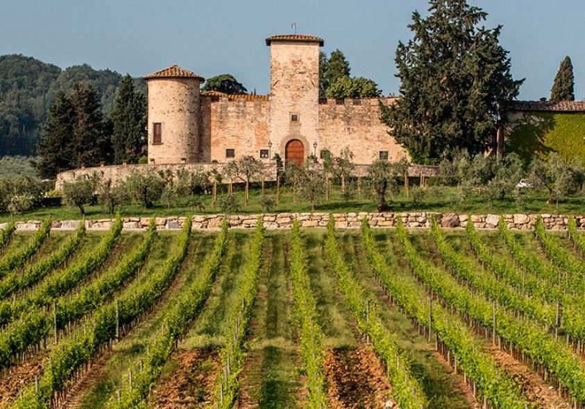 Castello di Gabbiano/Site oficial