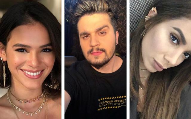 Bruna Marquezine, Luan Santana e Anitta