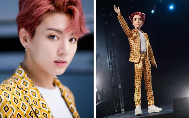 Meninos do BTS foram transformados em bonecos pela Mattel