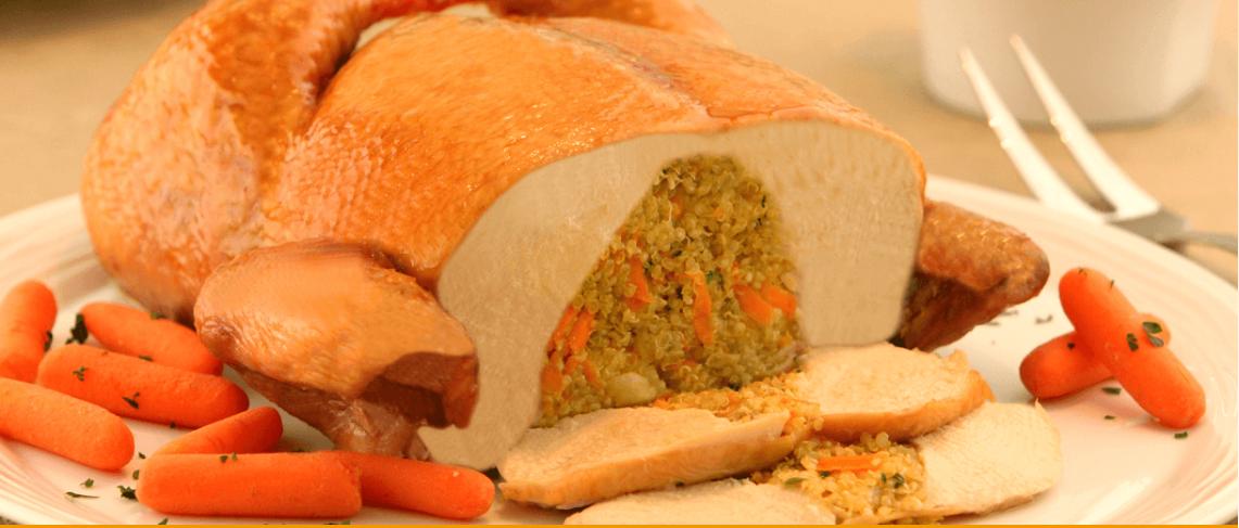 Fiesta Dessossado Seara com Quinoa Colorida e Castanha de Caju (Ceia Saudável)