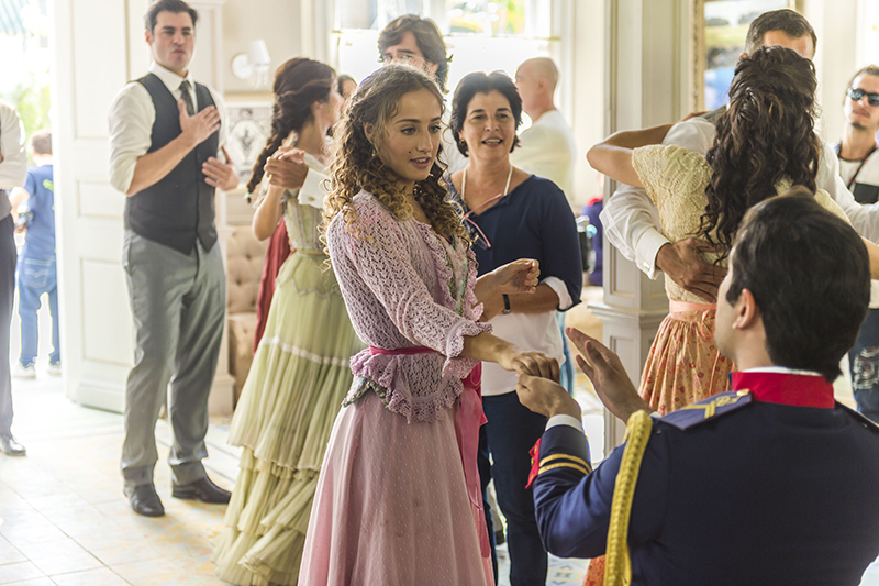 Cena musical da novela Orgulho e Paixão
