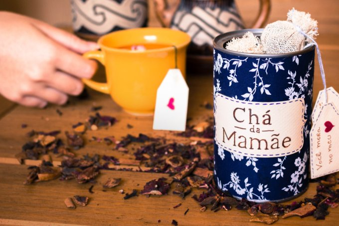 latinha de chá Diycore