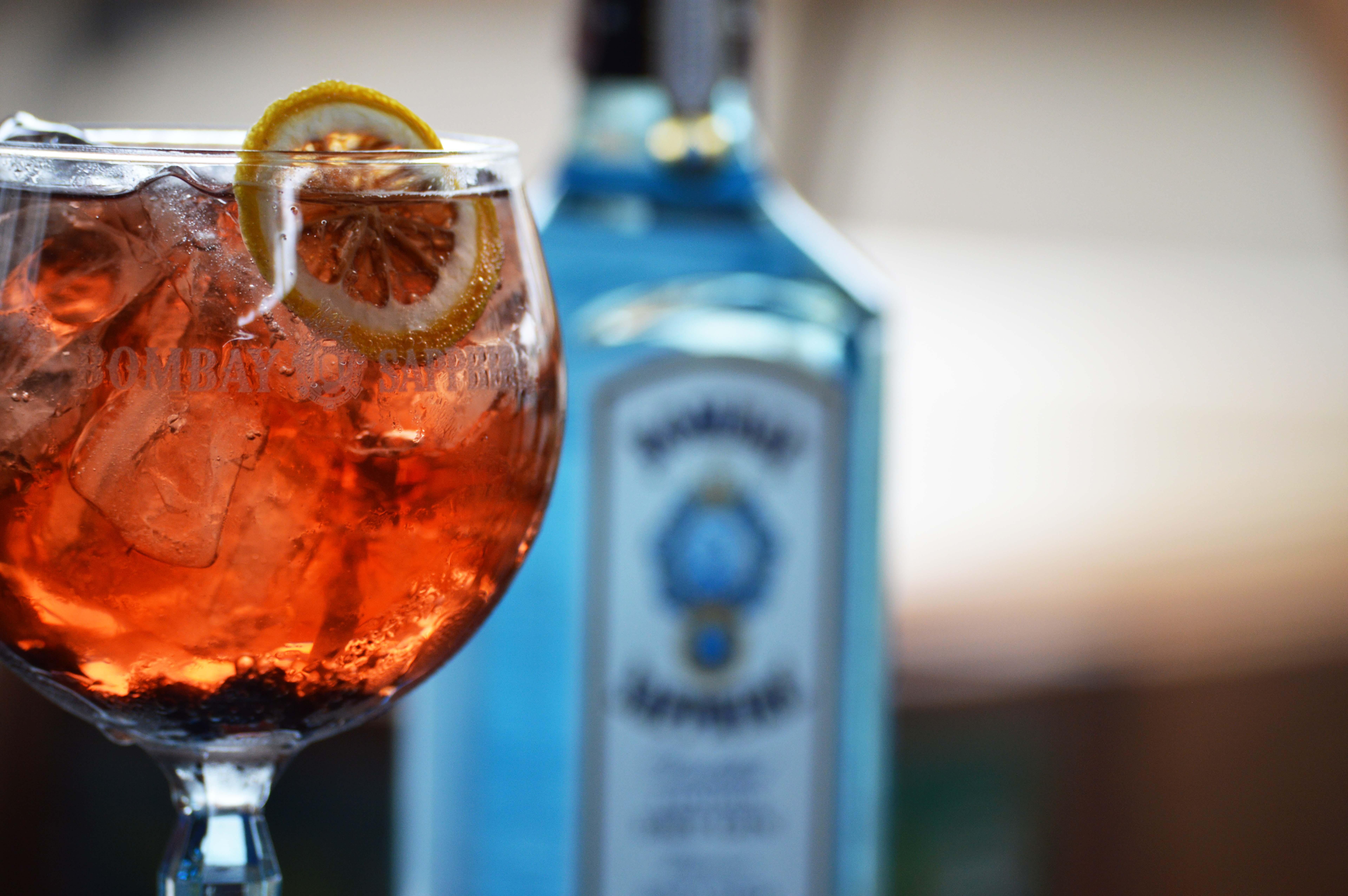 Drinks com Gin para o verão - Christmas Tonic