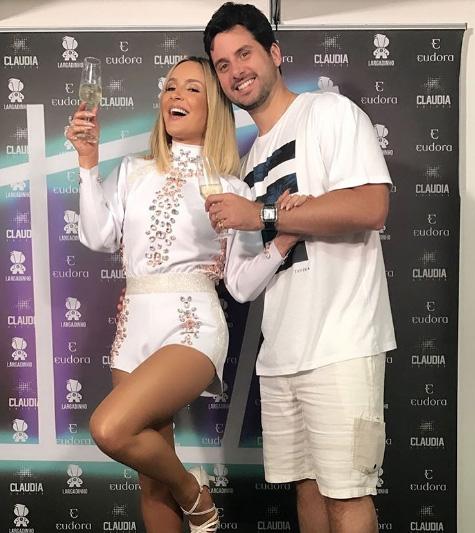 Claudia Leitte e Márcio Pedreira