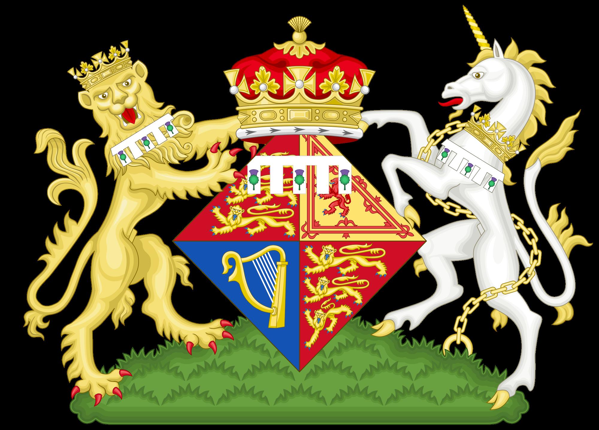 Brasão da princesa Eugenie