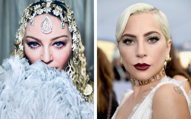 Madonna e Lady Gaga