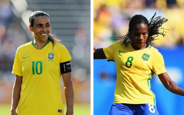 Marta e Formiga são dois dos nomes convocados para a seleção brasileira da Copa do Mundo de Futebol Feminino 2019