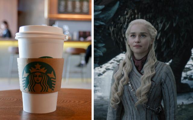 Copo de Starbucks surge em quarto episódio da oitava temporada de Game of Thrones