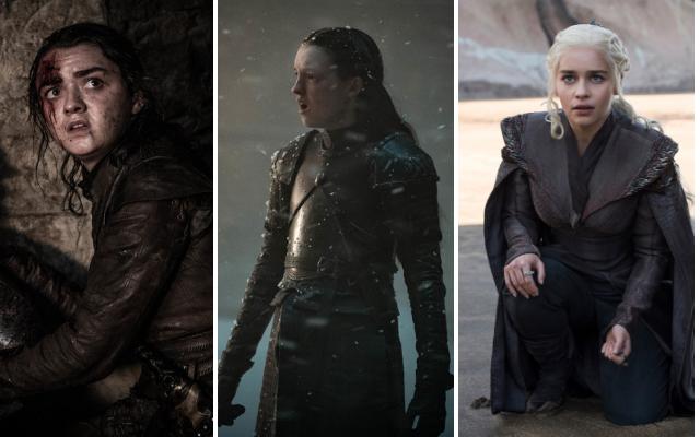 Arya, Lyanna e Daenerys