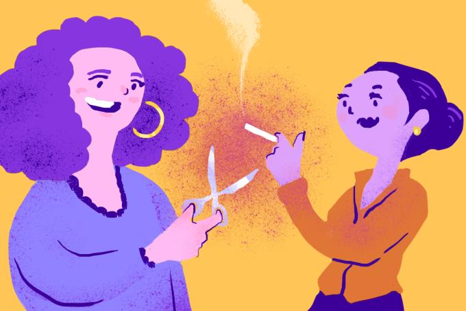 Como ajudar sua amiga que quer parar de fumar