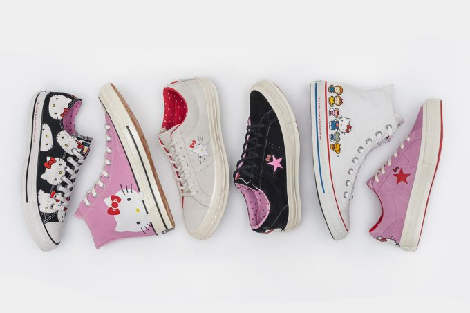 tenis converse hello kitty all star