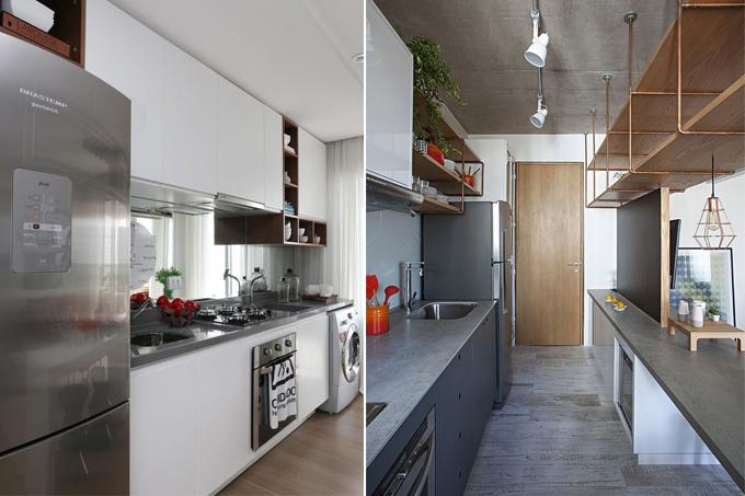 Cozinhas estreitas