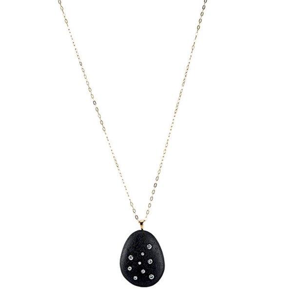 Colar de pedra com diamantes, CVC Stones, US$ 3 920, cvc-stones.com.