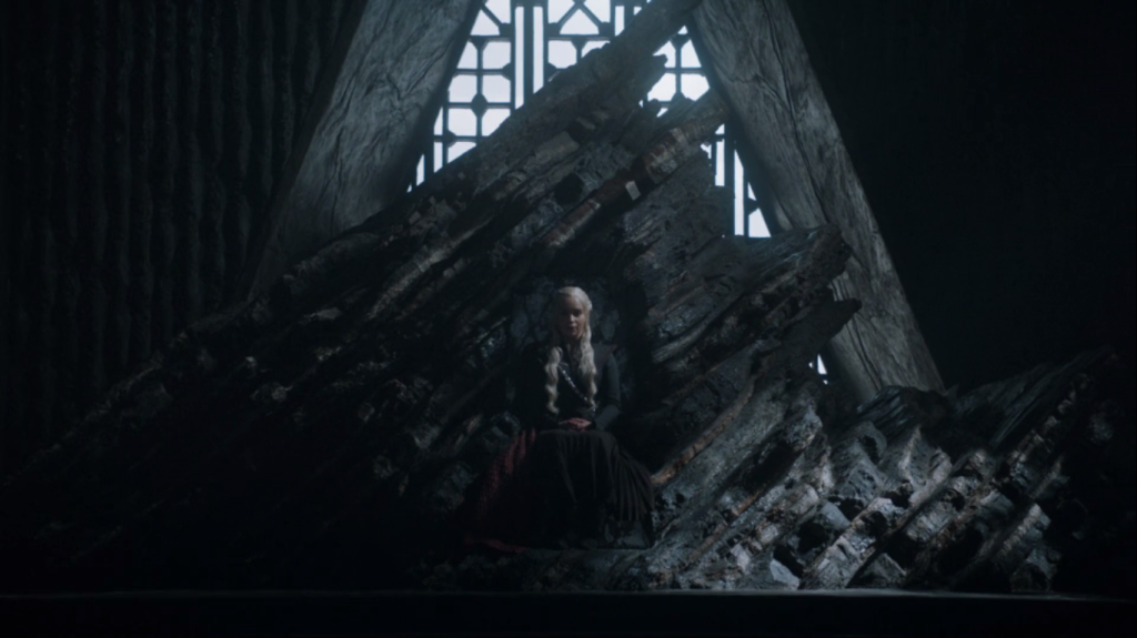 daenerys no trono game of thrones