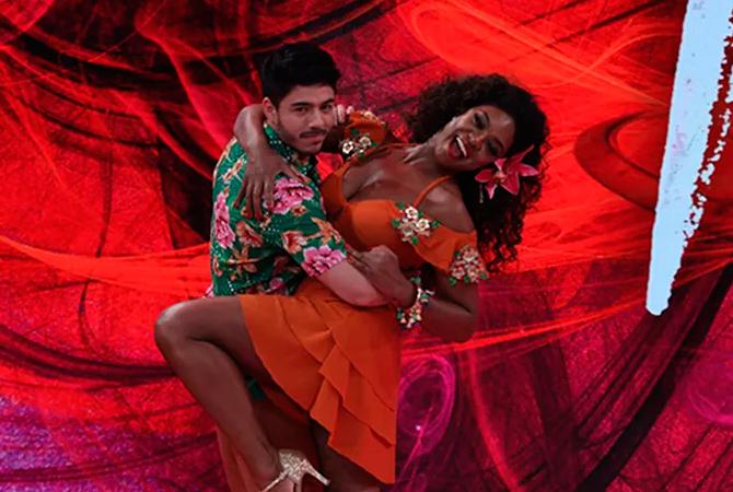 dança dos famosos cris vianna