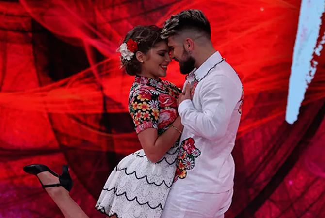 dança dos famosos isabella santoni