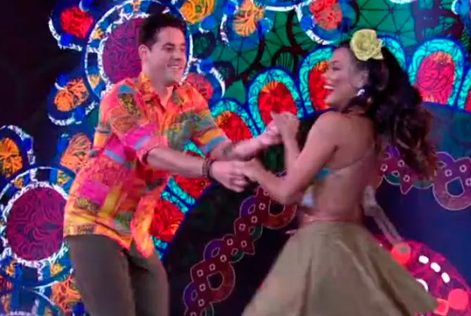 Dança dos Famosos Thiago Pereira