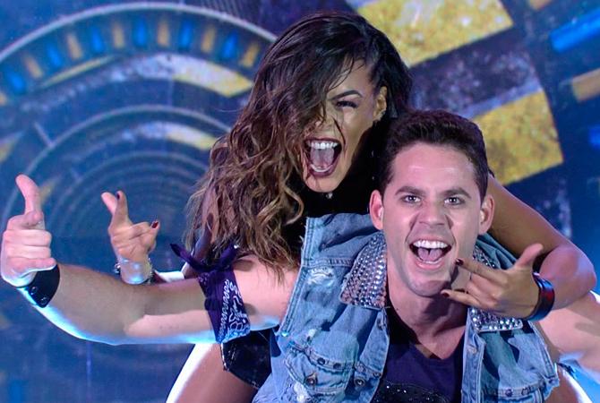 Dança dos Famosos com Thiago Pereira