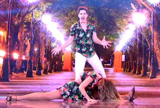 Dança dos Famosos Lucas Veloso