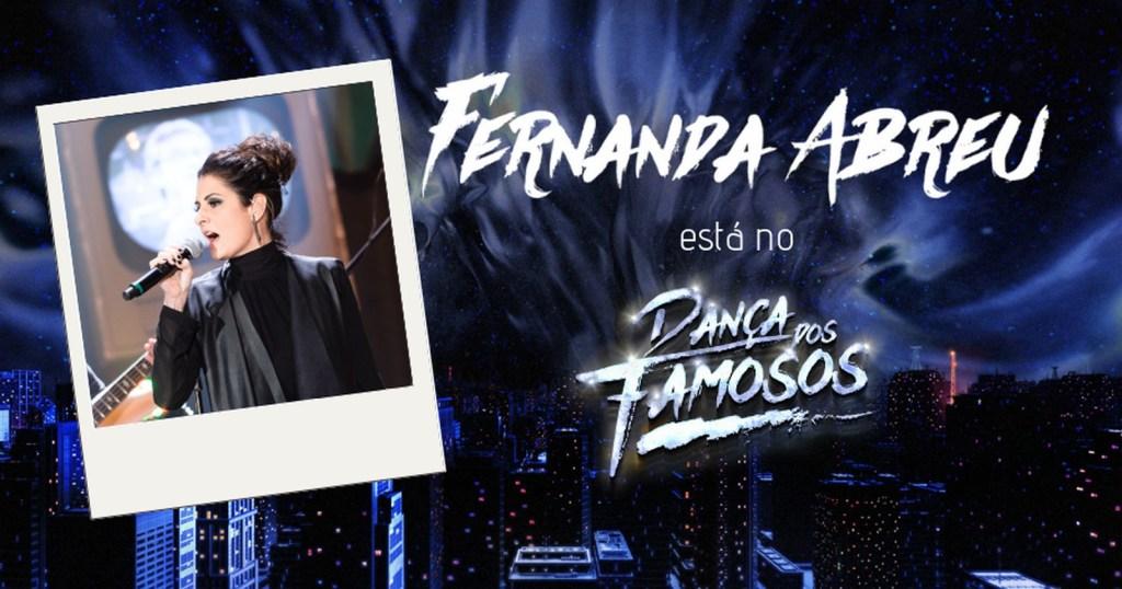 Fernanda Abreu no Dança dos Famosos