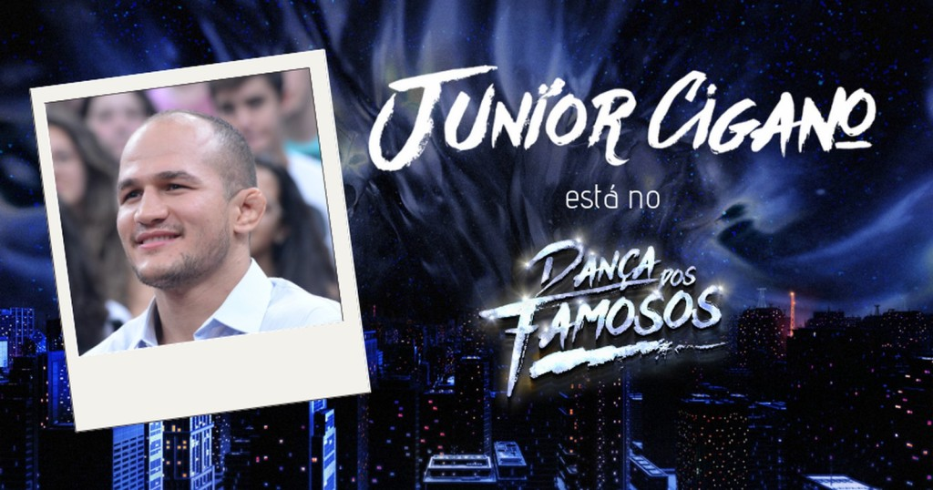 Junior Cigano no Dança dos Famosos