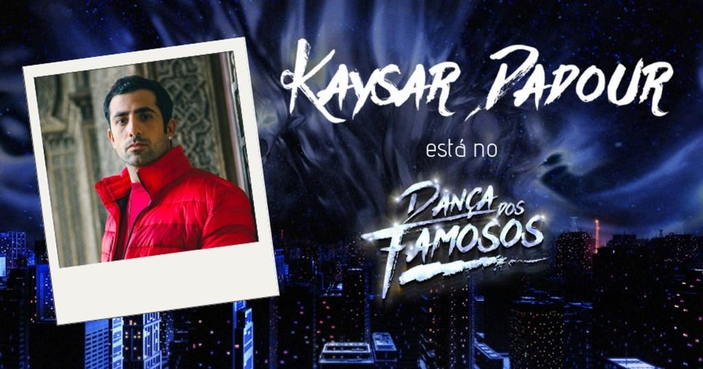 Kaysar no Dança dos Famosos