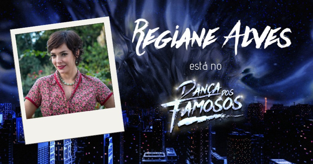 Regiane Alves no Dança dos Famosos