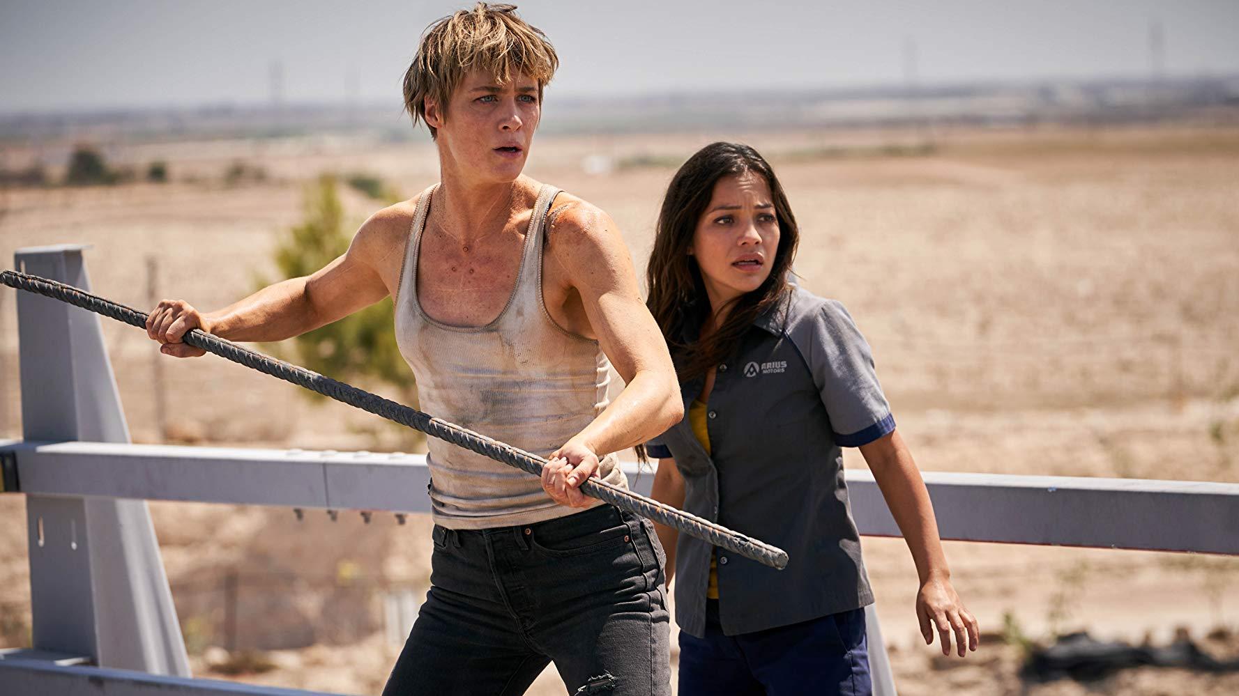 Mackenzie Davis e Natalia Reyes