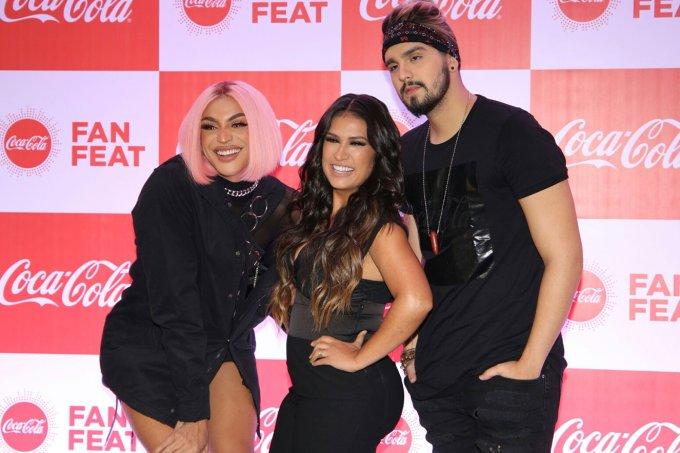 Pabllo Vittar, Simone e Luan Santana