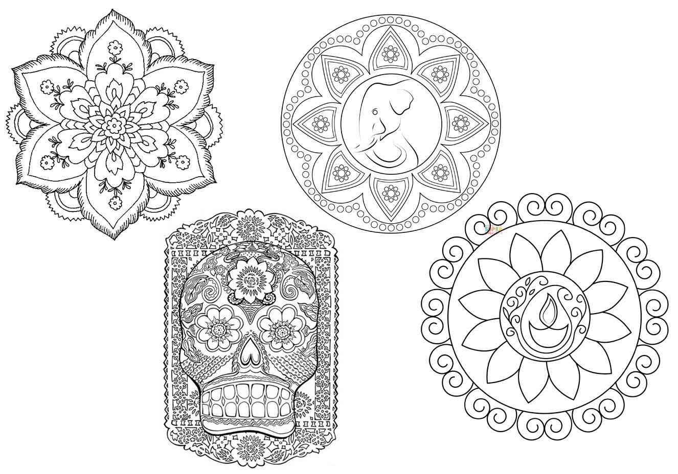 Reprodução/Supercoloring/Desenhos Para Colorir