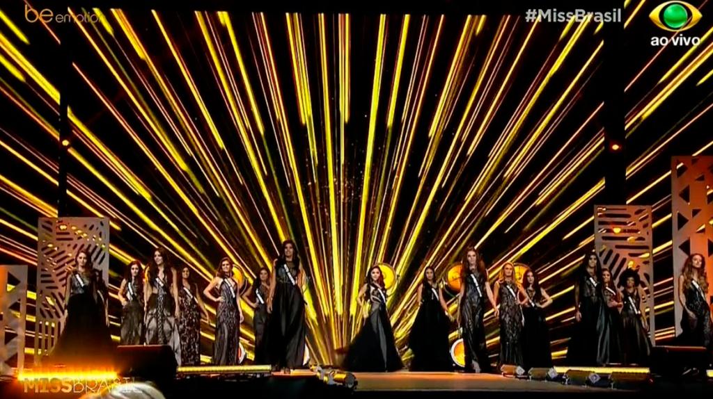 Desfile de gala do Miss Brasil 2018