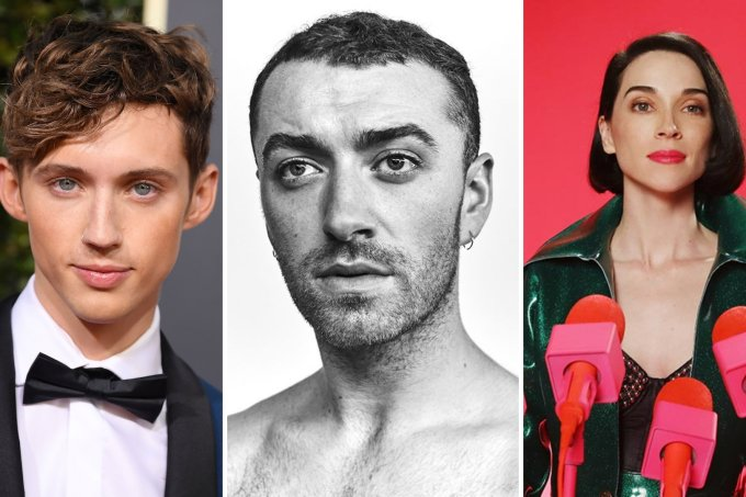 Troye Sivan, Sam Smith e St. Vincent