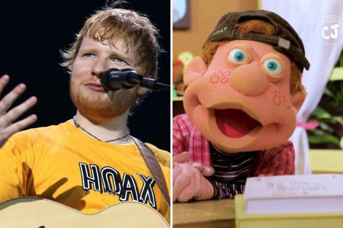 Ed Sheeran e Júlio