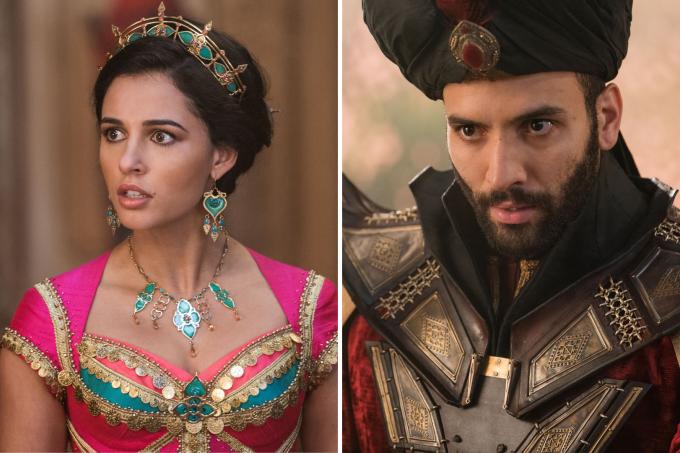 Jasmine e Jafar de 'Aladdin'