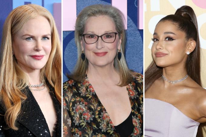 Nicole Kidman, Meryl Streep e Ariana Grande