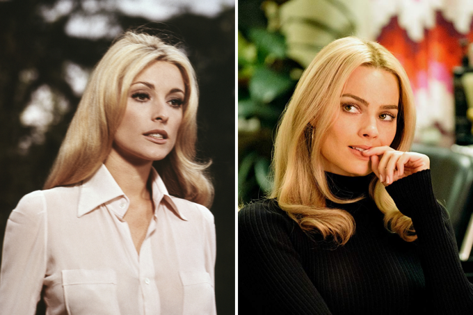 Sharon Tate e Margot Robbie