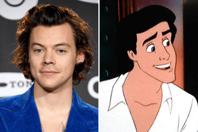 Harry Styles e Príncipe Eric