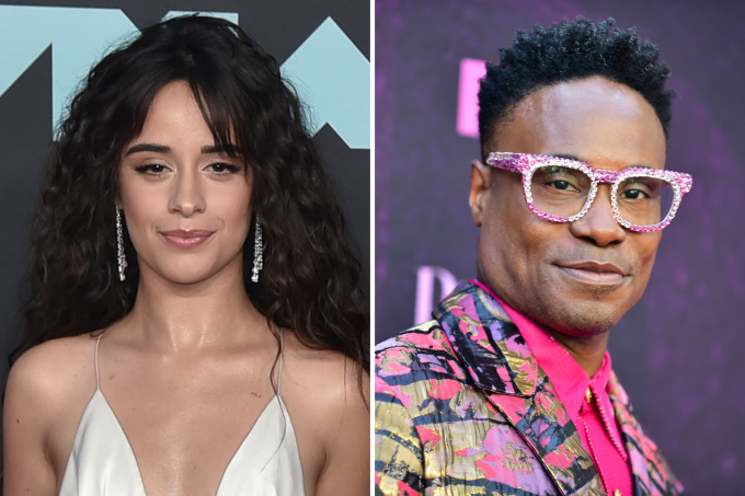 Camila Cabello e Billy Porter