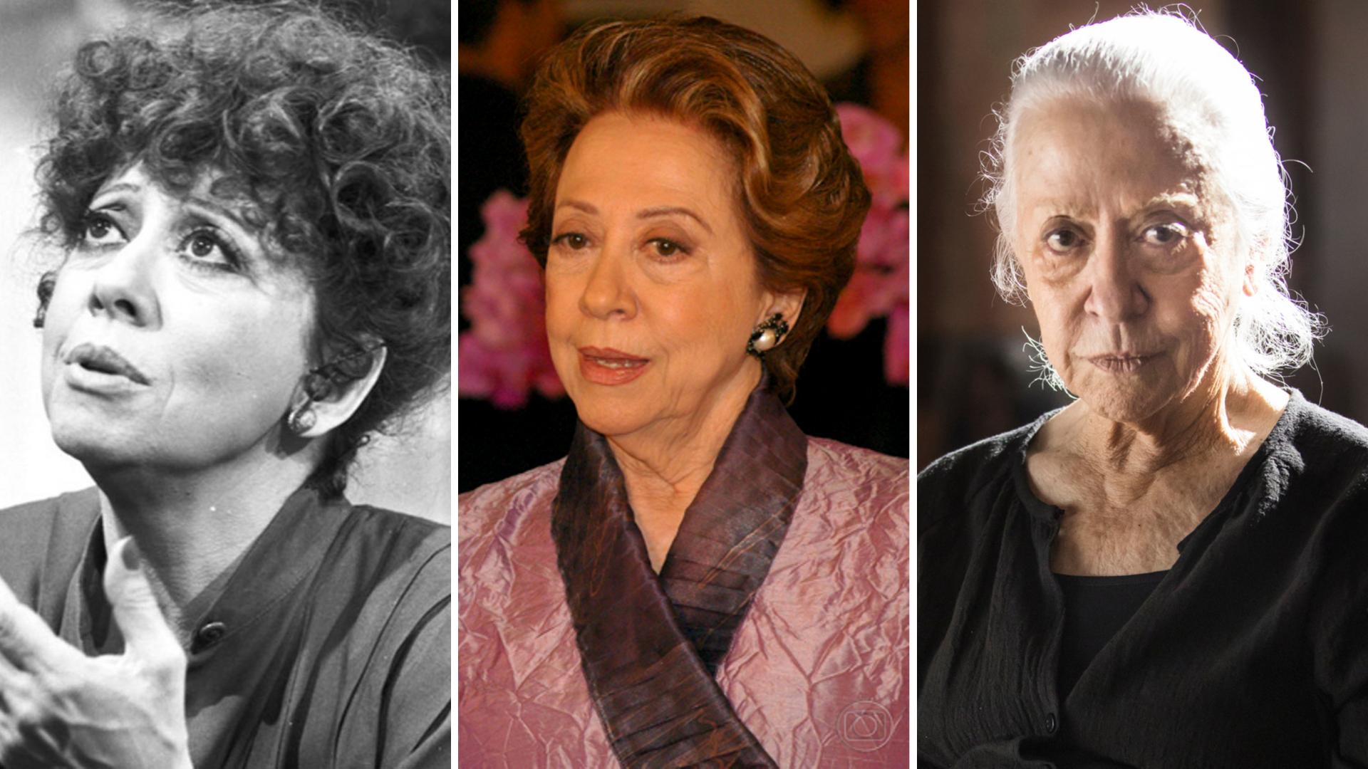 De 1981 até 2019, Fernanda Montenegro já fez mais de 20 novelas. Alguns papéis ficaram tão populares que ainda são relembrados até hoje.