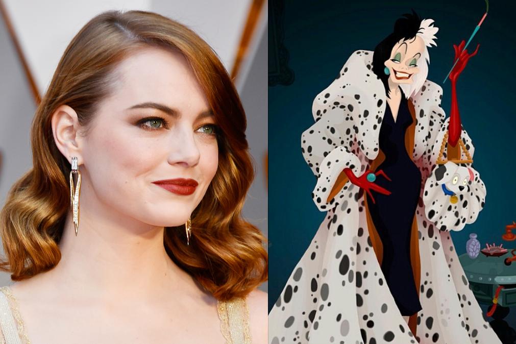 Emma Stone é a protagonista do filme 'Cruella'